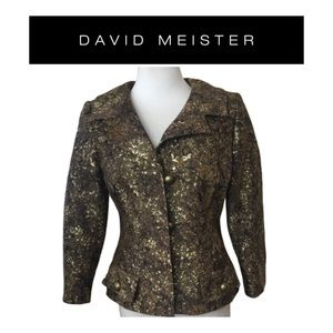 David Meister Holiday Blazer. Sz 4